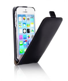 Mobiletto iPhone 5S Hülle PREMIUM Leder FlipCase