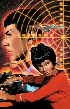 Star Trek: Uhura and Spock Artwork