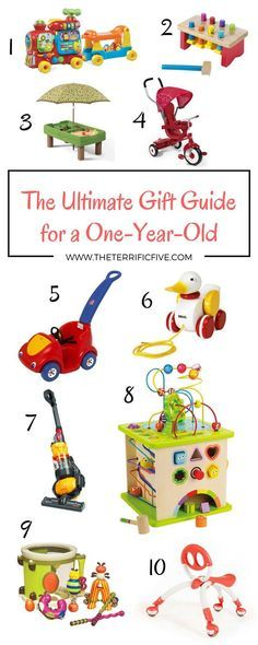 Best Toys For One Year Olds Baby Shower Gifts Pinterest