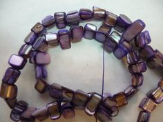 BeadsMotherofPearl Shell Natural Dyed Purple Mini by darlamarie23, $1.49