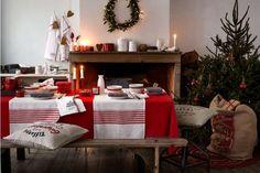 Navidad tradicional en rojo y verde