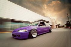 #Purple #CIVIC (シビック) #HONDA