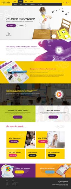 An early concept for Propeller Education. Looking for a modern ecommerce website, they approach us here at Logic Design. Click the image to find out more.