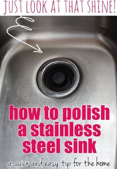 How to Polish a Stainless Steel Sink