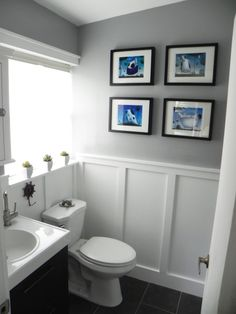"""Before & After: The """"Oops, You Got Us in Trouble"""" Bathroom Makeover — Renovation Project"""