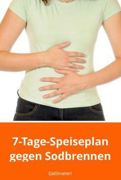 7-Tage-Speiseplan gegen Sodbrennen   eatsmarter.de