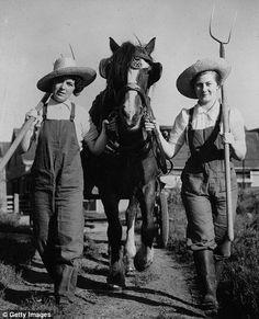 vintage women farming - Google Search