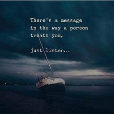 Silence is a blessing most times...