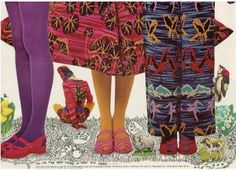 Finnfemme: Betsey Johnson - Alley Cat, Vintage 1971