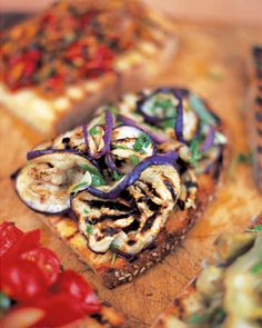 Jamie Oliver's recipe.  Eggplant is one of those foods...you migty like it you try it.....this looks delish.  Serve on some thinly toasted French bread