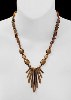 • TIGER EYE & BRASS  • VISIT MY 'One Of A Kind' GALLERY •   http://www.etsy.com/shop/TonyArmato?section_id=11266076