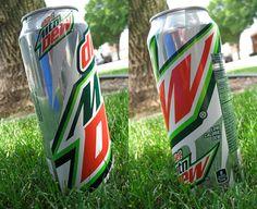 Designs on Diet Mountain Dew 24 oz Can