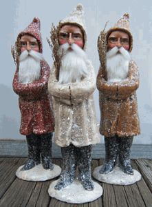 Belsnickle Santa Trio by Vickie Smyers review | buy, shop with friends, sale | Kaboodle