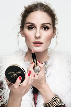 #OliviaPalermo has that particular brand of glossy New York #beauty well and truly nailed - no wonder #Ciaté snapped her up as guest creative director  back in January. Here we chat to her about her #wedding beauty, grooming rituals, and - of course - all things #nailpolish! @britishvogue @ciate | On #Beauty: @oliviapalermo shares her secrets: http://vogue.uk/44EGHR