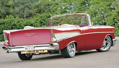 Amazing Classic Cars | 1957 Chevy Bel Air Convertible |Old Car