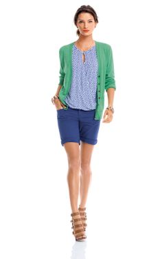 Happy Day - 03 - CAbi Spring 2014 Collection.  Wear with Newport Skirt for work.