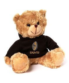 Another great find on #zulily! New Orleans Saints 9'' Sitting Bear Plush #zulilyfinds