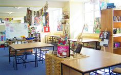Art Room - I love the light and open spaces to work on. Shelving for tasks and inspiration.