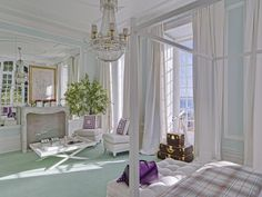 VT Interiors - Library of Inspirational Images: Ana Cordeiro Beautiful Bedrooms, Beautiful Interiors, Beautiful Homes, South Shore Decorating, Pretty Bedroom, Peaceful Bedroom, My Dream Home, Decoration, Living Spaces