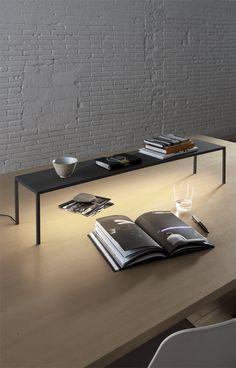 Lampe de bureau / contemporaine / en métal / à LED - BLANCOWHITE C1-R2-R3 by Antoni Arola - SANTA&COLE