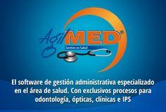 #AgilMED es el software de gestión en salud con módulos administrativos, contables y especializados para ópticas, clínicas, odontología e IPS   #Software #Salud #Opticas #Clinicas #Odontologia   http://www.sydicol.com.co/