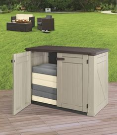 Great for outdoor storage of any kind! Designed for all types of
