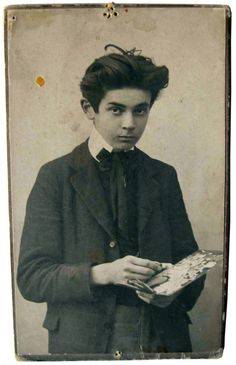 """I believe in the immortality of all creatures."" - Egon Schiele at age fifteen"