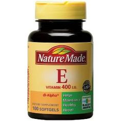 Nature Made Vitamin E 400 I.U. Softgels