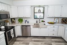 9 Noble Tips AND Tricks: Cheap Kitchen Remodel Ikea Hacks kitchen remodel concrete countertops. Old Cabinets, Diy Kitchen Cabinets, Painting Kitchen Cabinets, Kitchen Paint, Kitchen Redo, New Kitchen, Vintage Kitchen, Kitchen Remodeling, Kitchen Ideas