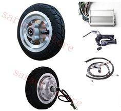 8inch 350W  24V  electric wheel hub motor  , electric motor for scooter  ,skateboard electric motor,electric scooters hub motor