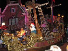 disney parade float pirat ships - Google Search