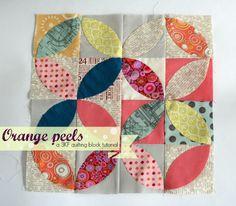 Orange peel tutorial/ Tea leaves tutorial by Threekitchenfairies