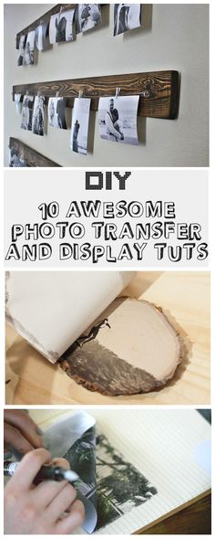 10 Awesome Photo Transfer and Display Tuts