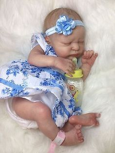 Beautiful Reborn *SERENITY- Baby GIRL* By LAURA Lee EAGLES SOLD OUT LE COA