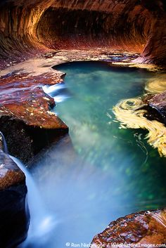 The Subway, Zion National Park, Utah http://www.pinterest.com/halinalis/breathtaking-view/