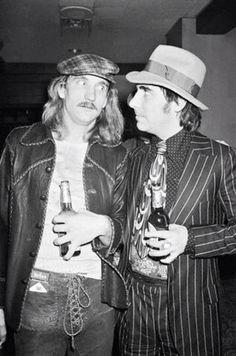 Joe Walsh & Keith Moon