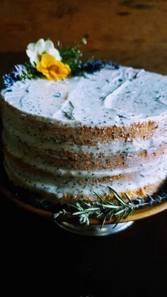 Gather's Guide For Celebrating The Midwinter Festival Of Lights – Gather Victoria Mascarpone Cake, Snack Recipes, Dessert Recipes, Kitchen Recipes, Baking Recipes, Fairy Food, Lavender Cake, Seed Cake, Beautiful Desserts
