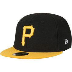 ccada0ecffa Pittsburgh Pirates New Era Infant My First 9FIFTY Snapback Adjustable Hat -  Black