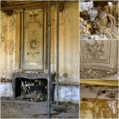 Repairs to this room at Chateau de Gudanes in the South of France will require lots of love, patience and perseverance. http://www.huffingtonpost.com/2014/04/26/abandoned-french-chateau_n_5208202.html?&ncid=tweetlnkushpmg00000067