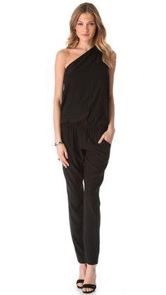 Ramy Brook Lulu One Shoulder Jumpsuit ($445)