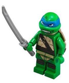 LEGO® Teenage Mutant Ninja Turtles™ 79118 LEONARDO Minifigure w/ Weapon NEW
