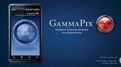 """スマホのカメラで放射線を検出する無料アプリ「GammaPix Lite」  App """"GammaPix Lite"""" free camera to detect the radiation Sumaho"""