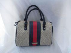 New Handbag Tommy Hilfiger Purse Satchel Color Beige 6928640-247 #TommyHilfiger #Satchel