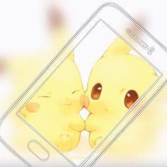 可愛い Anime Animals, Cute Animals, Pokemon Poster, Drawing Wallpaper, Cute Pokemon Wallpaper, Cute Pikachu, All Pokemon, Geek Girls, Kawaii Art
