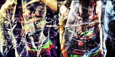 Dress I created to do with Protection. Camouflaged sheer effect/Photography.