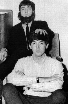 Galeria de Fotos de John Lennon y Paul McCartney