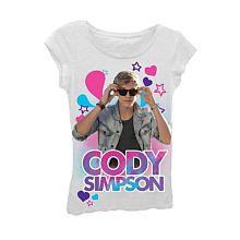Cody Simpson White Screened T-Shirt - Medium