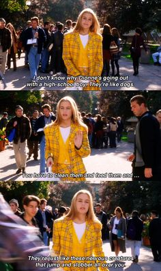 Clueless, def one of my favorite movies! 1995 Movies, Iconic Movies, Series Movies, Good Movies, Clueless Quotes, Clueless 1995, Kurt Cobain Frases, Movies Showing, Movies And Tv Shows