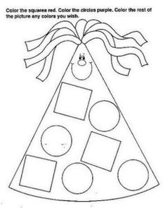Crafts,Actvities and Worksheets for Preschool,Toddler and Kindergarten.Lots of worksheets and coloring pages. Shape Tracing Worksheets, Preschool Worksheets, Preschool Crafts, Crafts For Kids, Teaching Geometry, Printable Shapes, Free Printable, Baby Clip Art, Shape Crafts