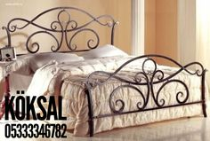 Iron Furniture, Steel Furniture, Bunk Bed Mattress, Wrought Iron Beds, Steel Bed, Woodworking Bed, Iron Decor, Iron Work, Shabby Chic Bedrooms